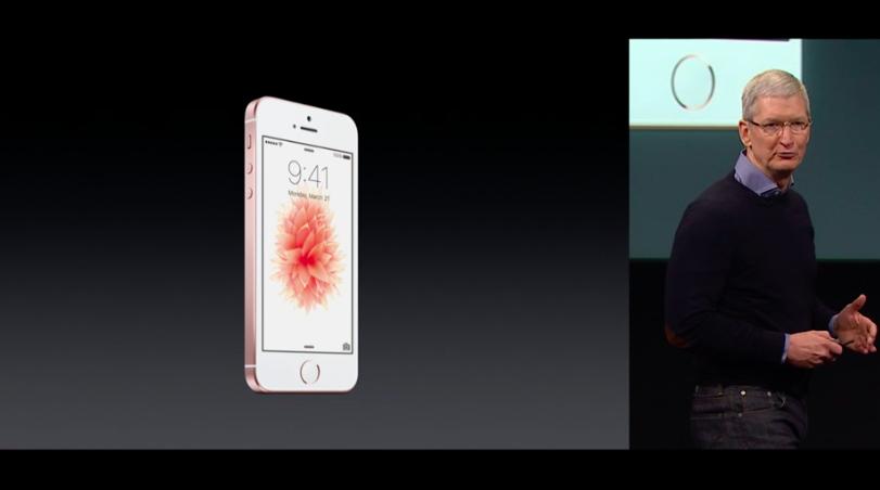 Apple Event iphone SE culturageek.com.ar Tim Cook