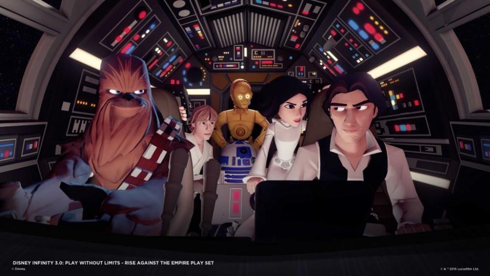 Cultura Geek Disney Infinity 3 - 1