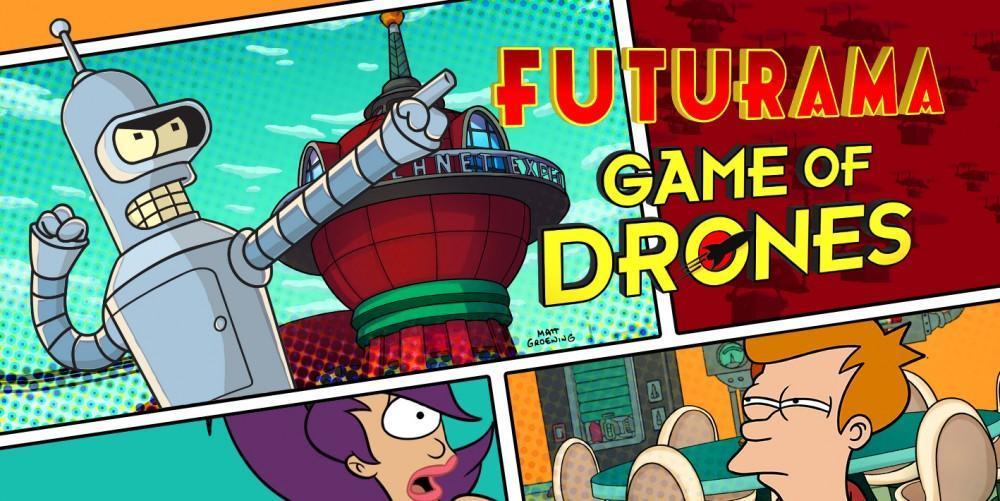Futurama Game of Drones logo culturageek.com.ar