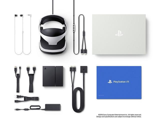Playstation VR paquete culturageek.com.ar