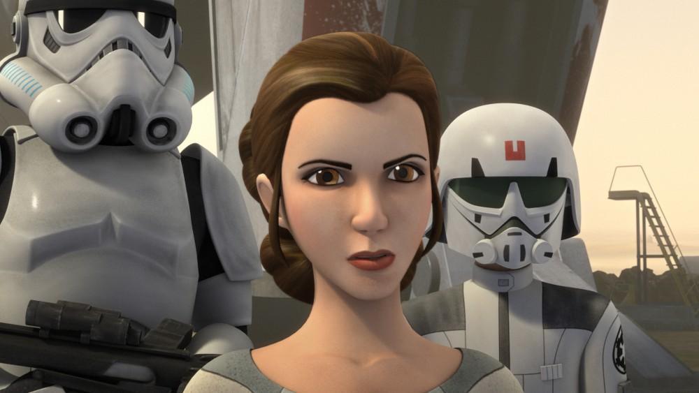 sta wars rebels princesa leia