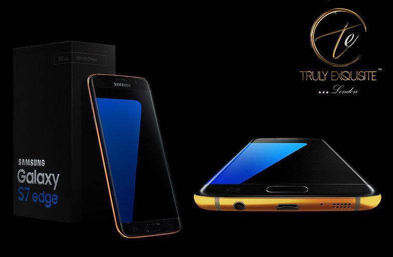 Galaxy S7 de oro culturageek.com.ar
