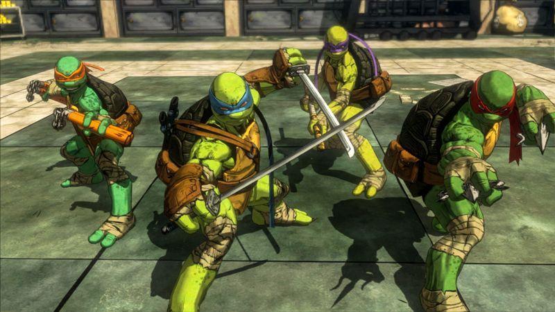 Tortugas Ninja game culturageek.com.ar