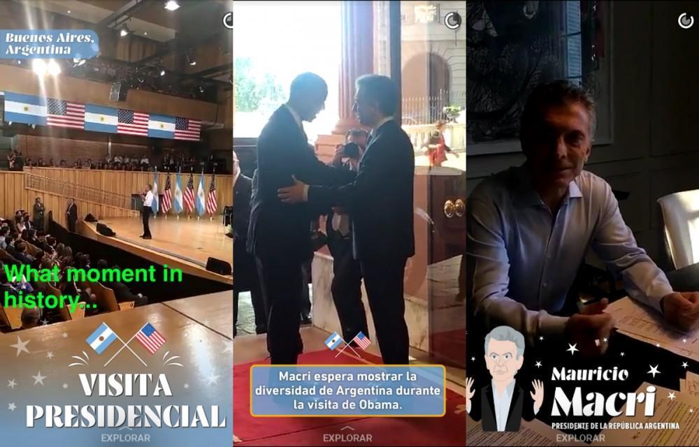 snapchat macri obama www.culturageek.com.ar