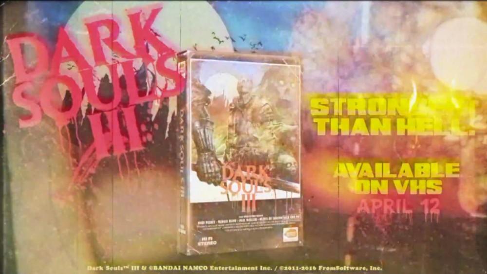 Cultura Geek Dark Souls III VHS 1