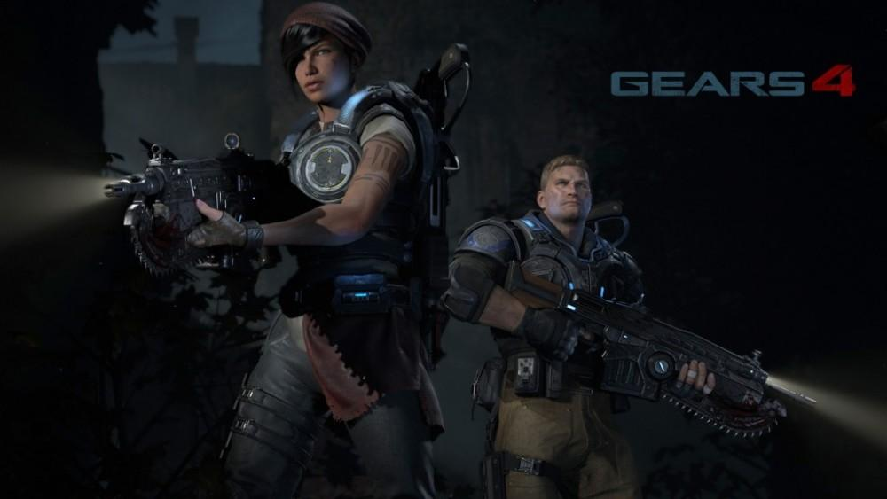 Cultura Geek Gears of War 4