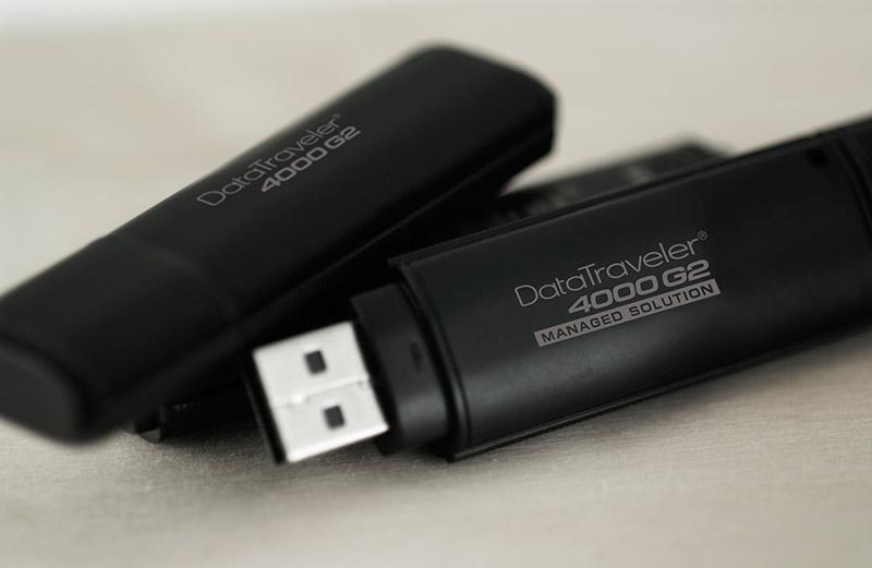 Cultura Geek Kingston Datatraveler 4000 G2