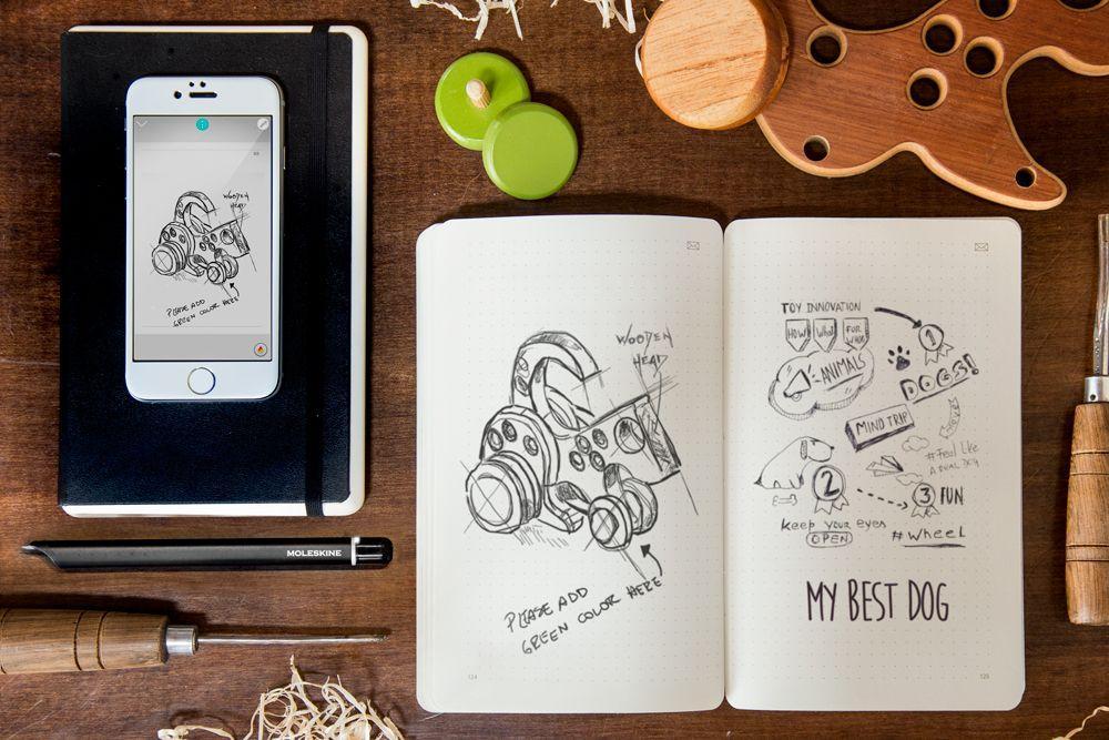 Cultura Geek Moleskine Smart Writing 2