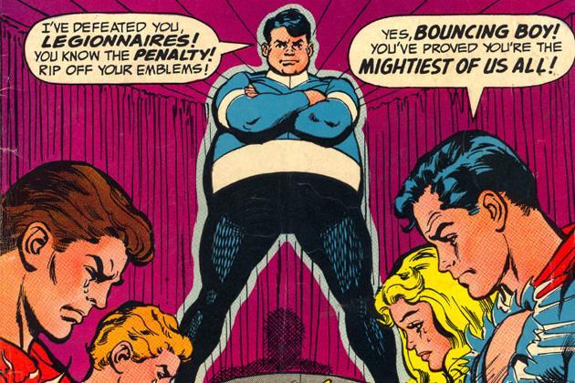 Cultura Geek Superhéroes pedorros Bouncing Boy 1