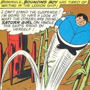 Cultura Geek Superhéroes pedorros Bouncing Boy 2
