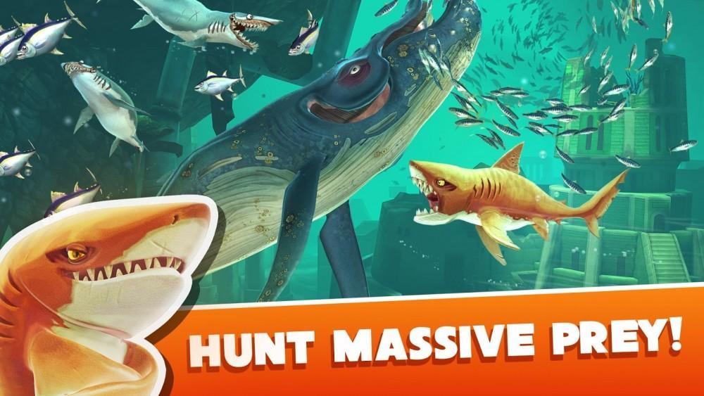 Cultura Geek Hungry Shark World 2