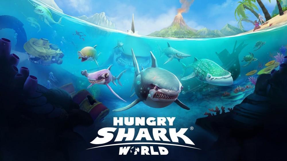 Cultura Geek Hungry Shark World 3