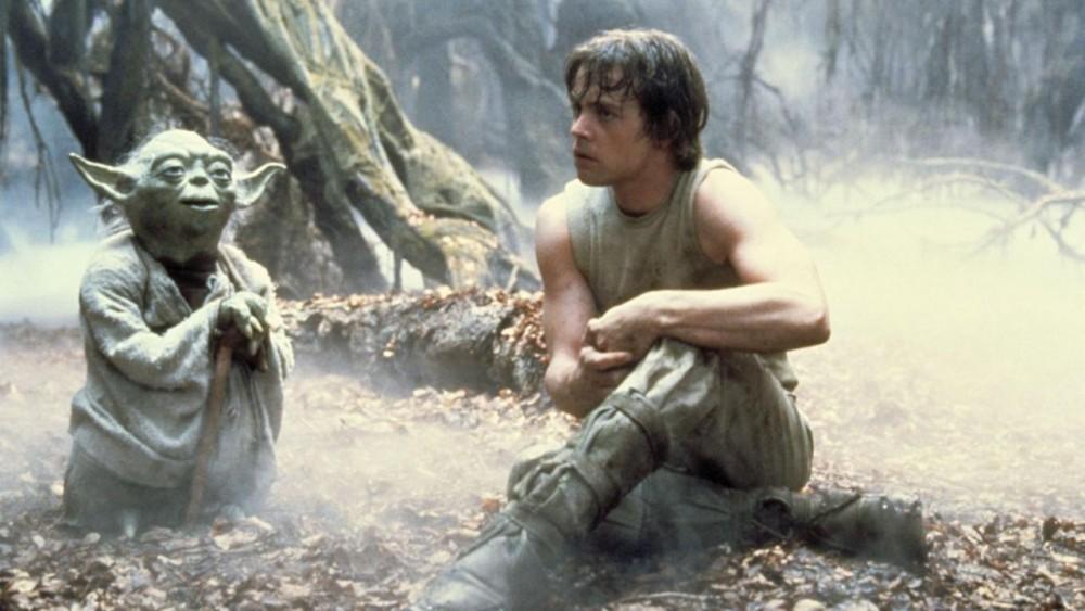 Star Wars Luke and Yoda