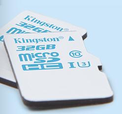 Kingston microSD Action Camera c culturageek