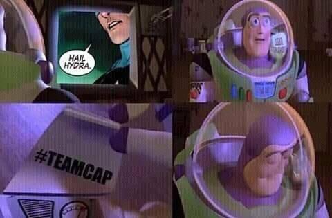 Los memes de Capitán América como villano de Marvel www.culturageek.com.ar