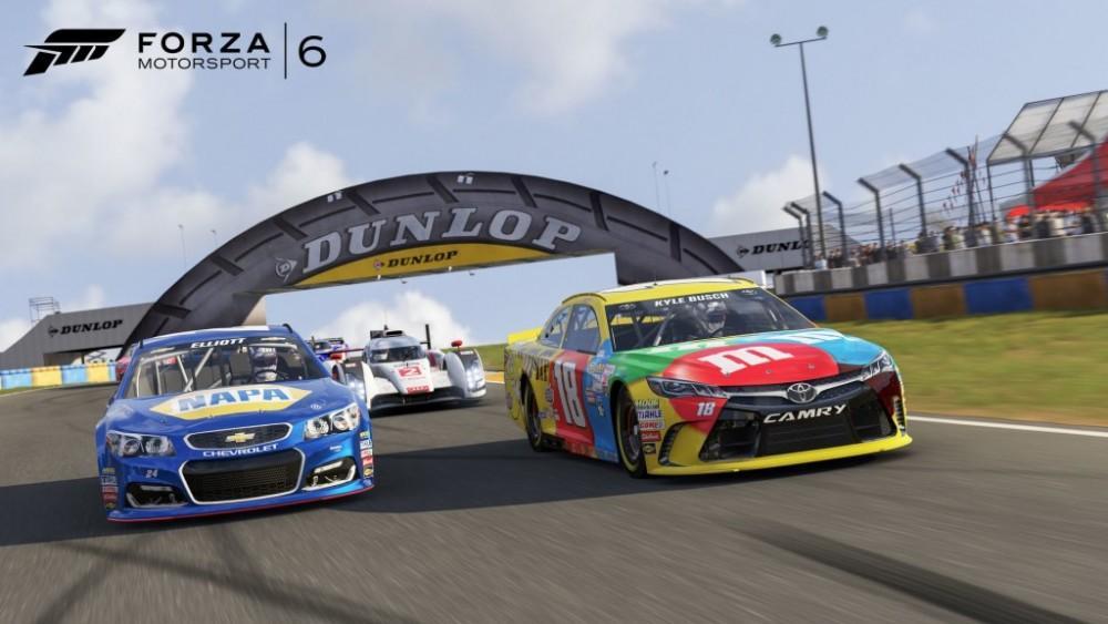 Cultura Geek Forza Motorsport 6 Nascar 1