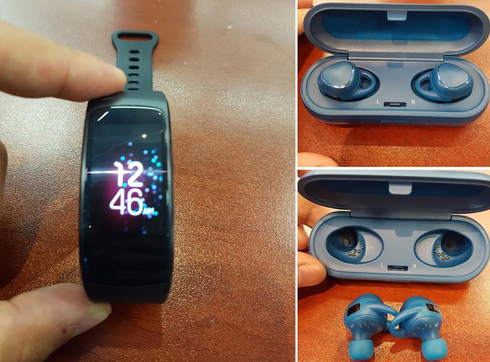 Cultura Geek Samsung Gear Fit 2 IconX 2