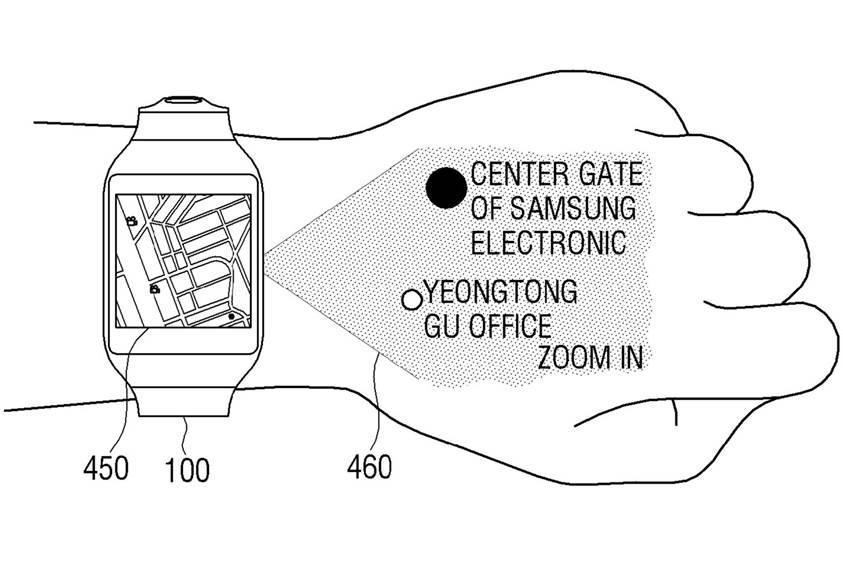Cultura Geek pantente Samsung smartwatch 1