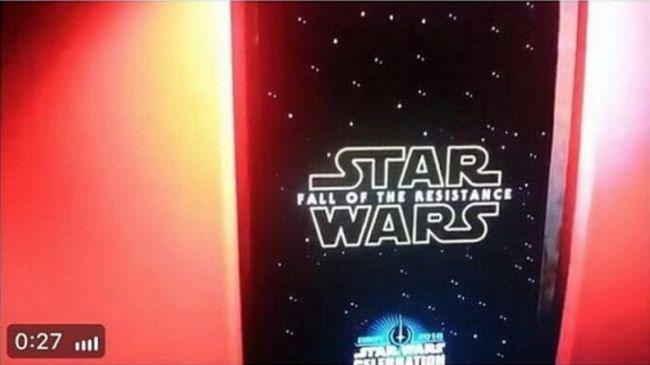 Cultura Geek Star Wars VIII Titulo 2