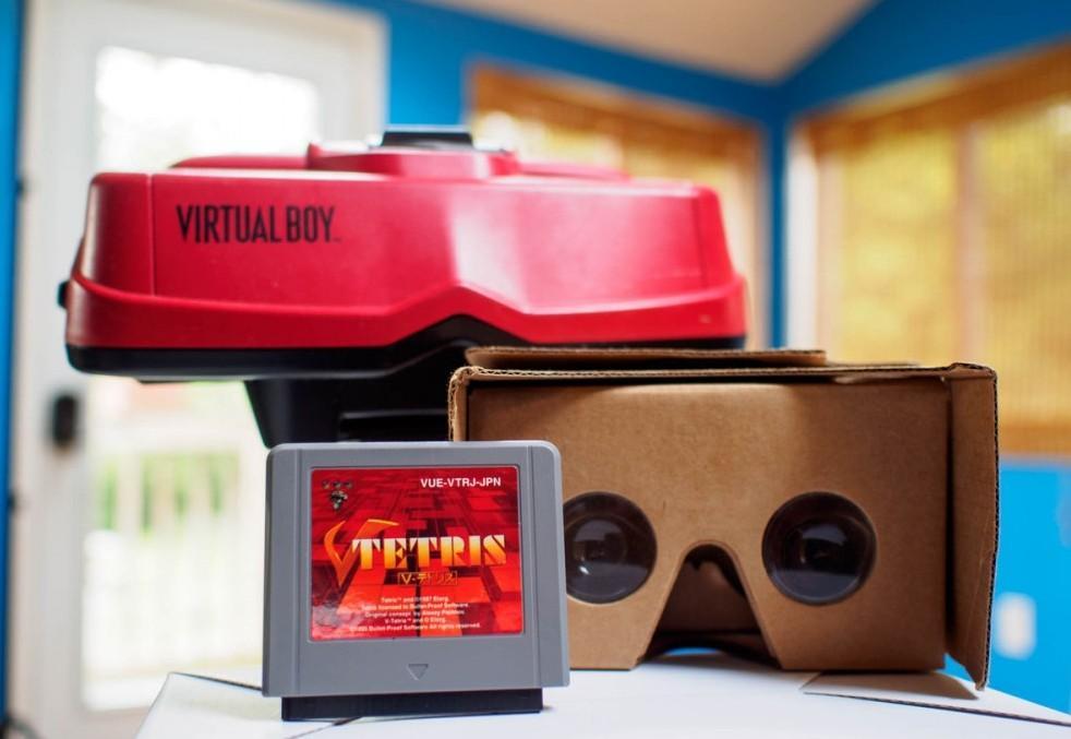virtual boy cardboard