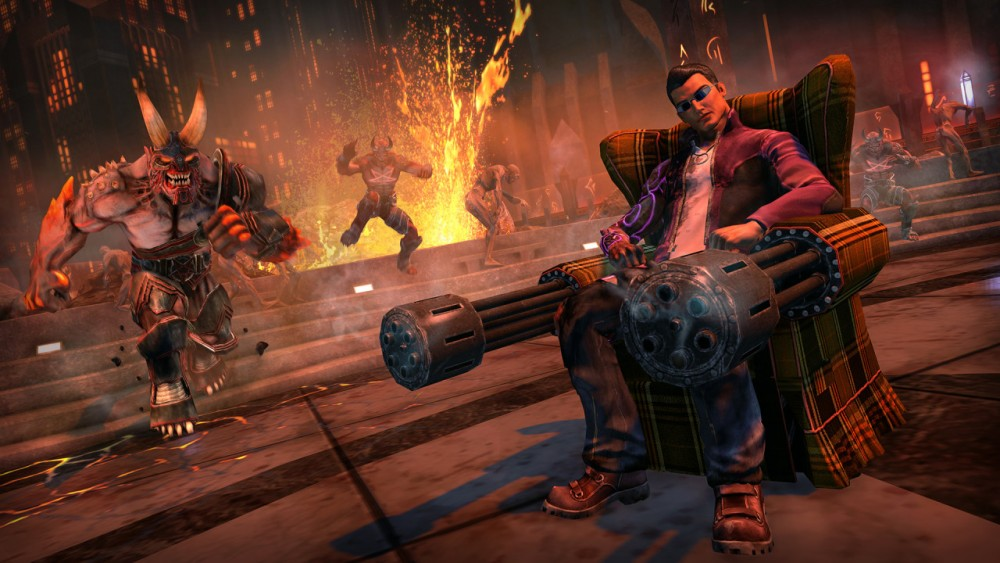 Cultura Geek Ps Plus Julio 2016 Saints Row Gat out of hell 1