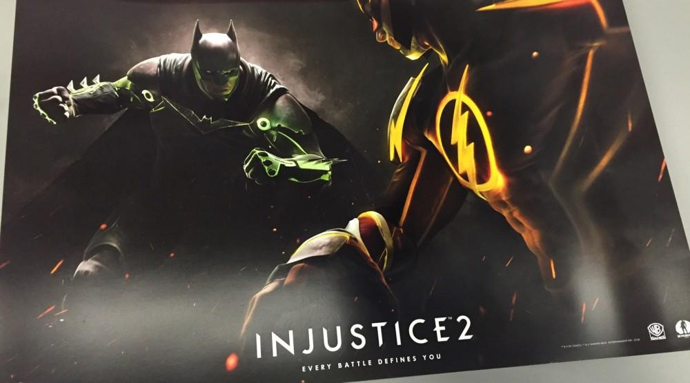 Cultura Geek Injustice 2 poster 1