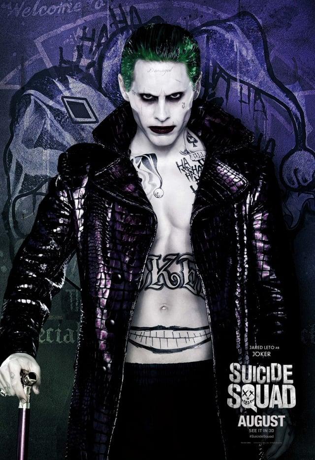 Jared Leto en el papel de The Joker