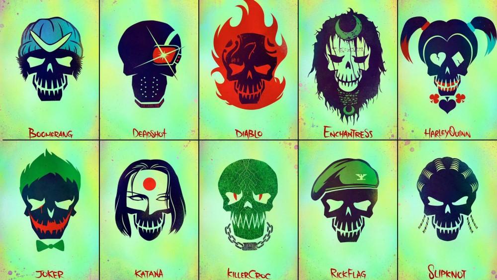 Suicide Squad poster culturageek.com.ar