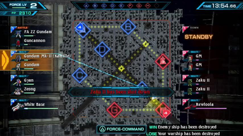 Bandai Gundam mapa culturageek.com.ar