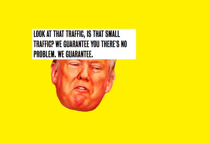 Cultura Geek Filtro Donald Trump 2