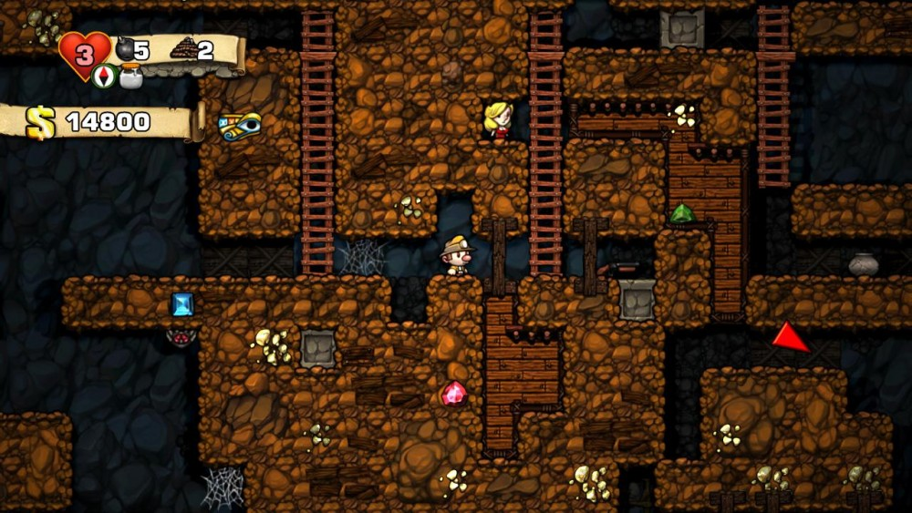 Cultura Geek Games With Gold Agosto 2016 Spelunky