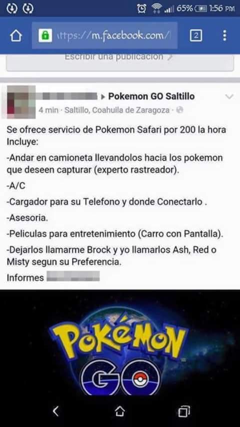 Cultura Geek Pokemon Go Safari Pokemon 2