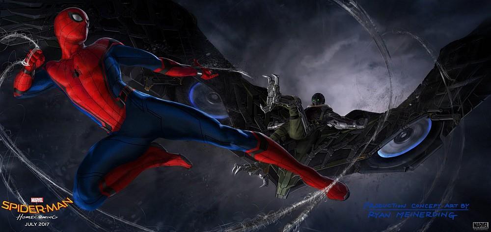 SDCC Marvel Spider-Man Homecoming ca culturageek.com.ar