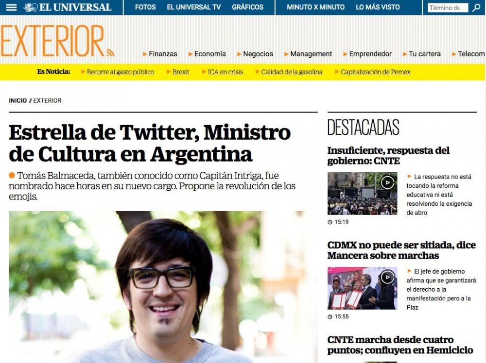 Tomás Balmaceda Capitán Intriga culturageek.com.ar