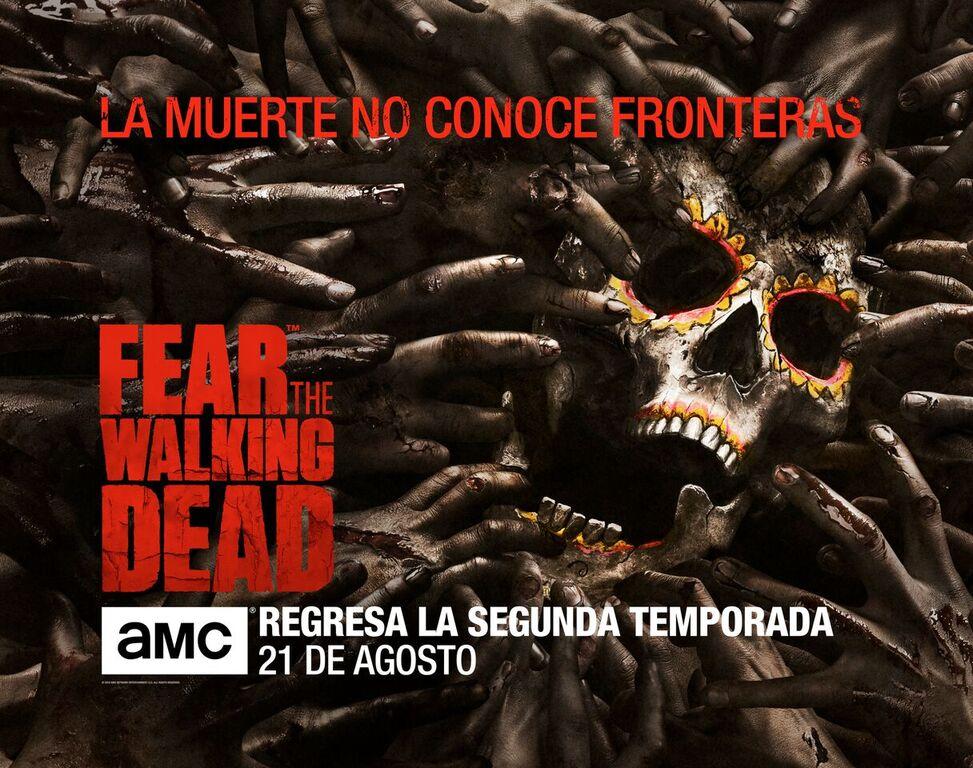 poster Fear The Walking Dead - culturageek.com.ar