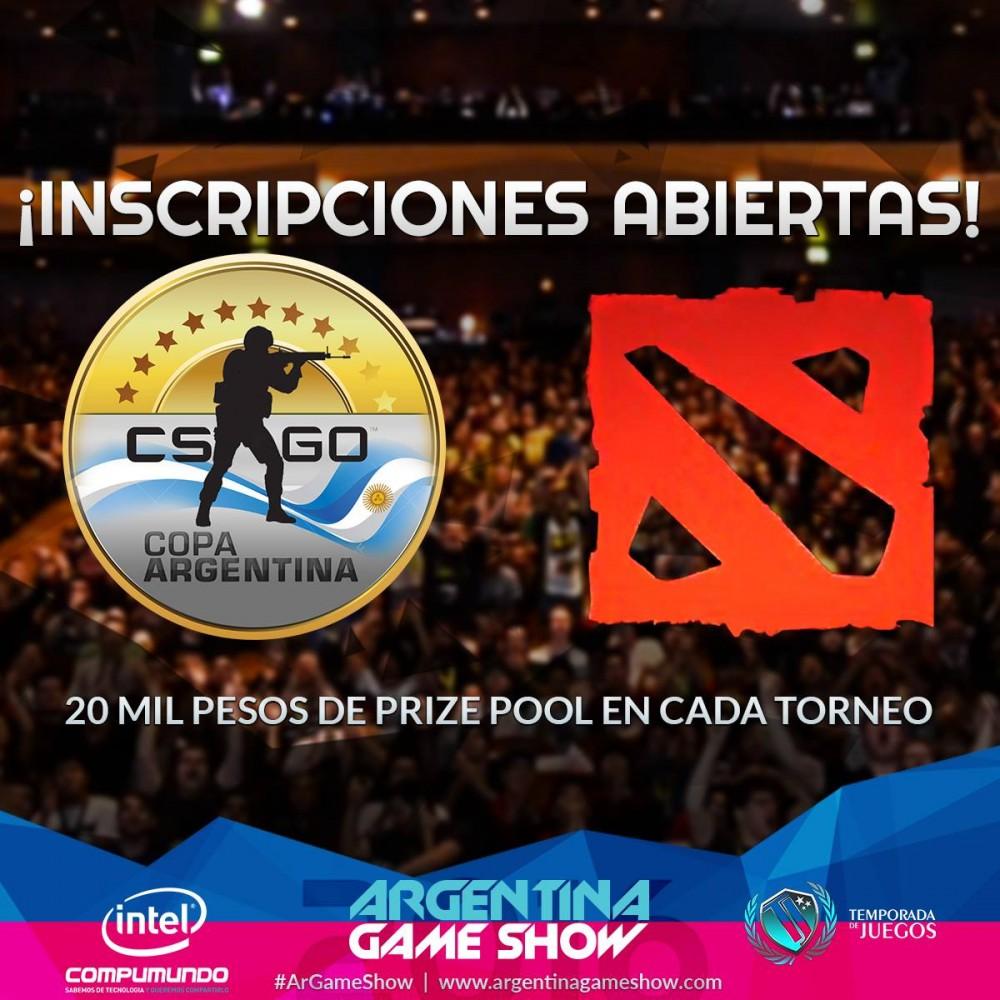 www.culturageek.com.ar Argentina Game Show Dota 2 CS 1