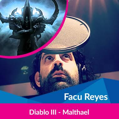 Cultura Geek Argentina Game Show Doblaje Facu Reyes