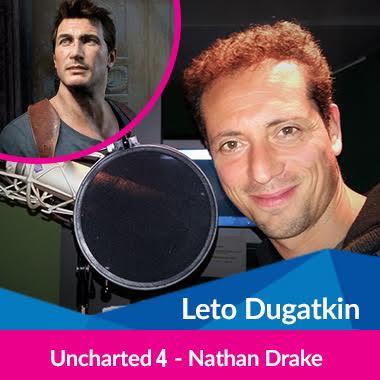 Cultura Geek Argentina Game Show Doblaje Leto Dugatkin
