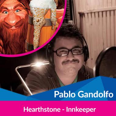 Cultura Geek Argentina Game Show Doblaje Pablo Gandolfo