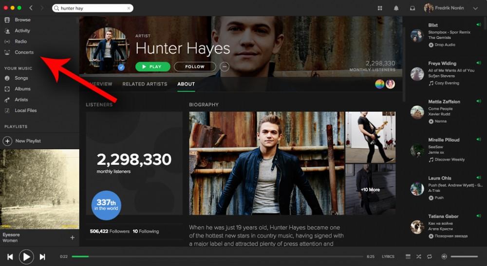 Cultura Geek Spotify música en vivo 2