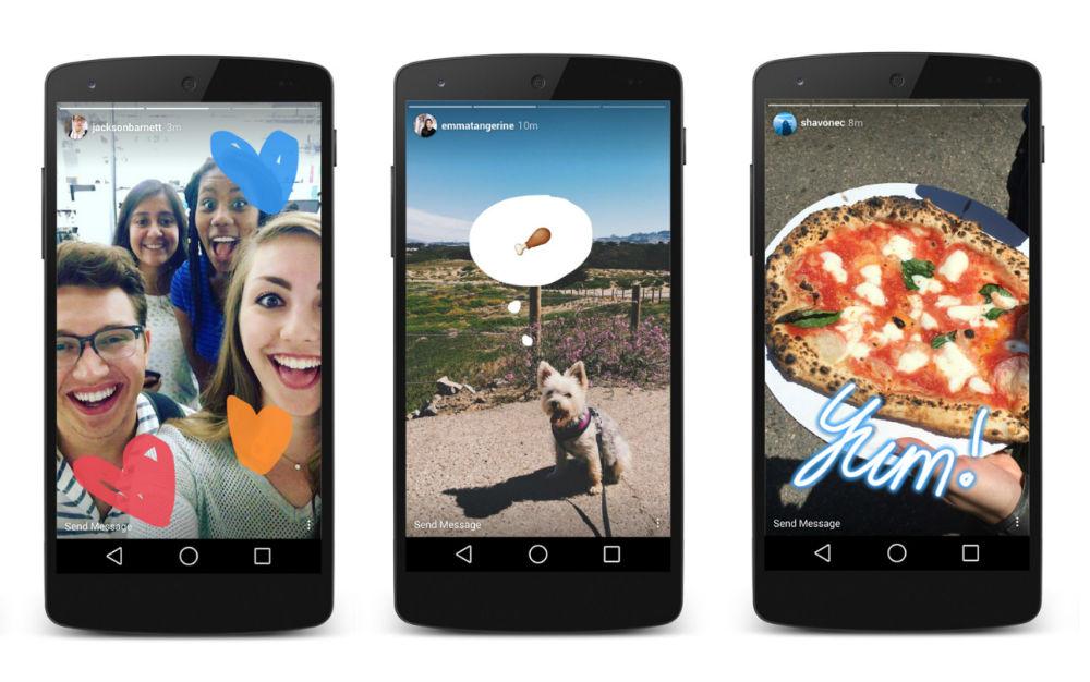 Instagram Stories Snapchat Cultura Geek
