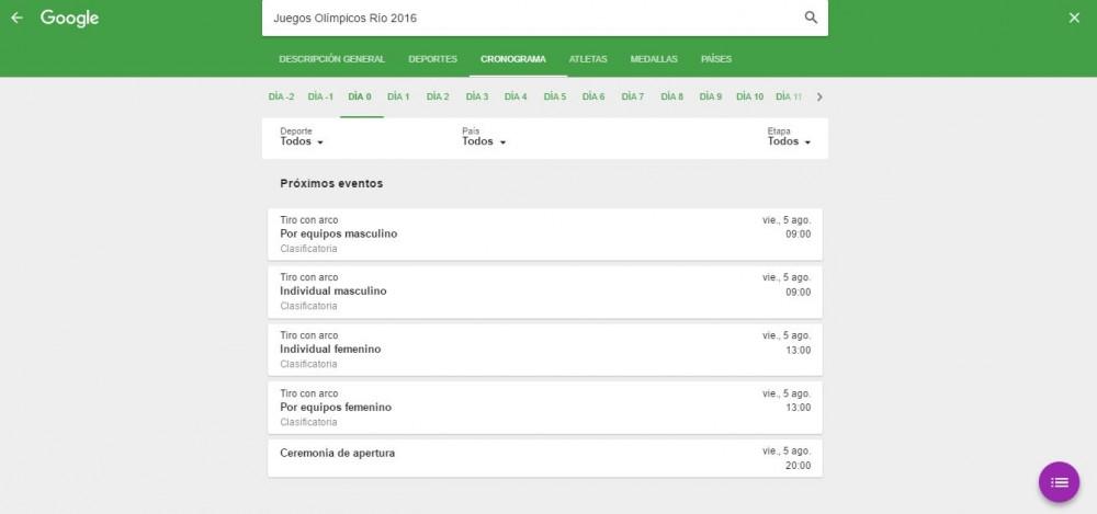 Juegos olimpicos 2016 culturageek.com.ar