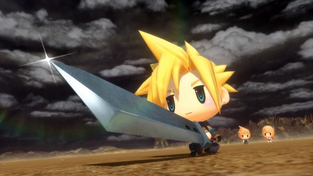 World of Final Fantasy Cloud culturageek.com.ar
