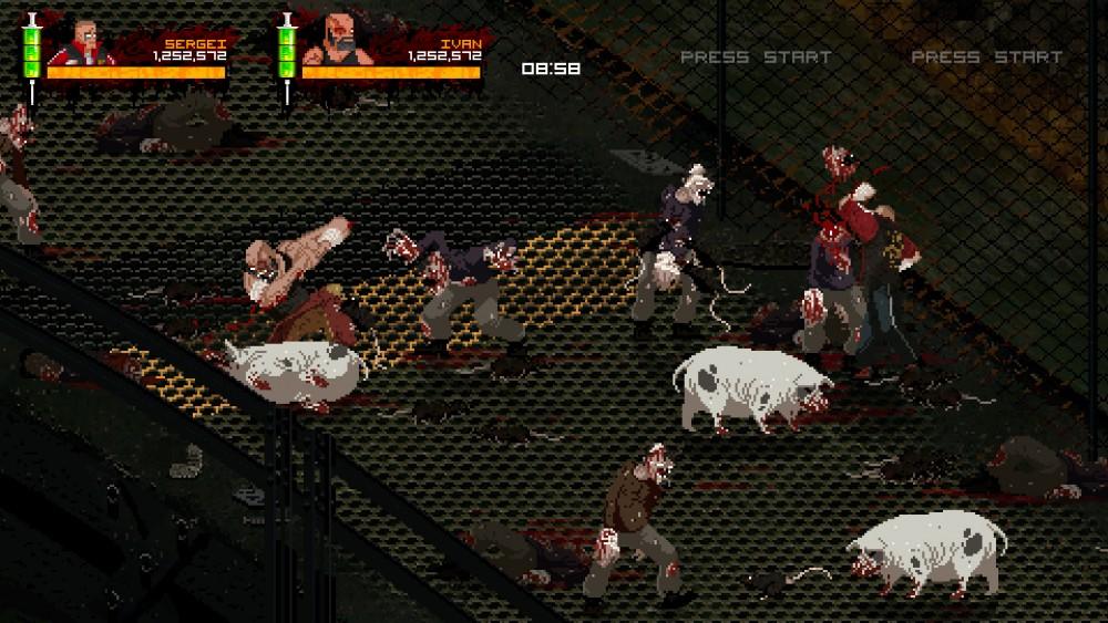 www.culturageek.com.ar Mother Russia Bleeds Beat 'em up 1