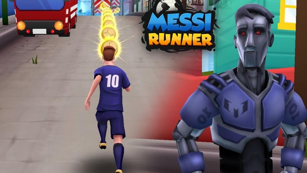 www.culturageek.com.ar Messi Runner Smartphones 1