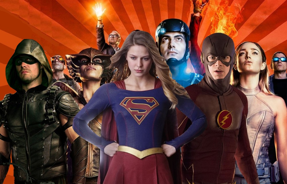 crossover the flash arrow supergirl cultura geek