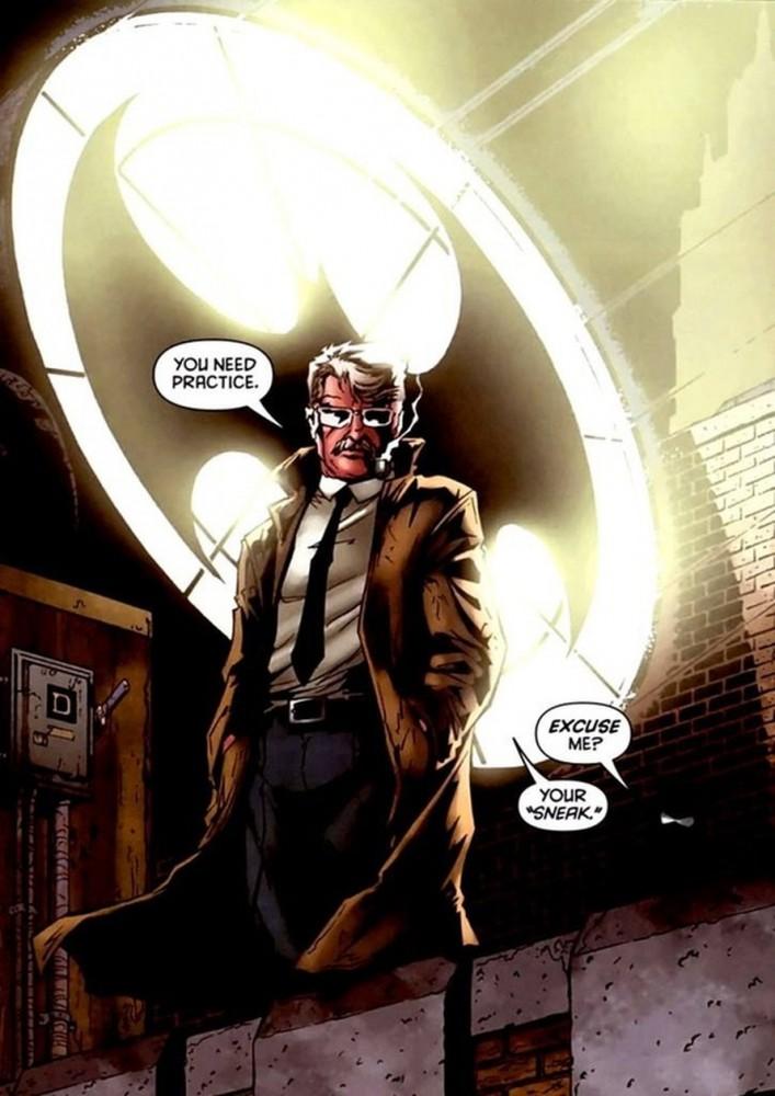 Comisionado James Gordon Justice League Cultura Geek