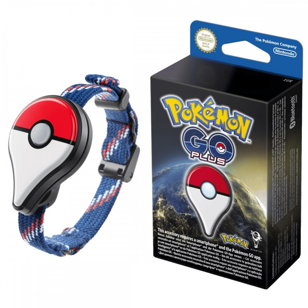 Pokemon Go Plus cultura geek
