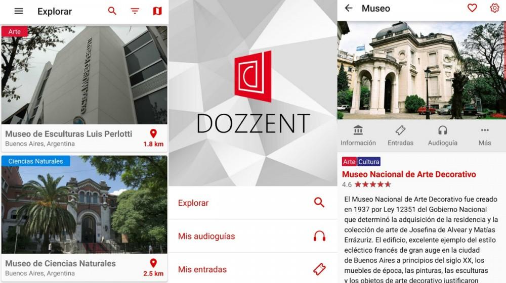 Dozzent app noche de los museos cultura geek