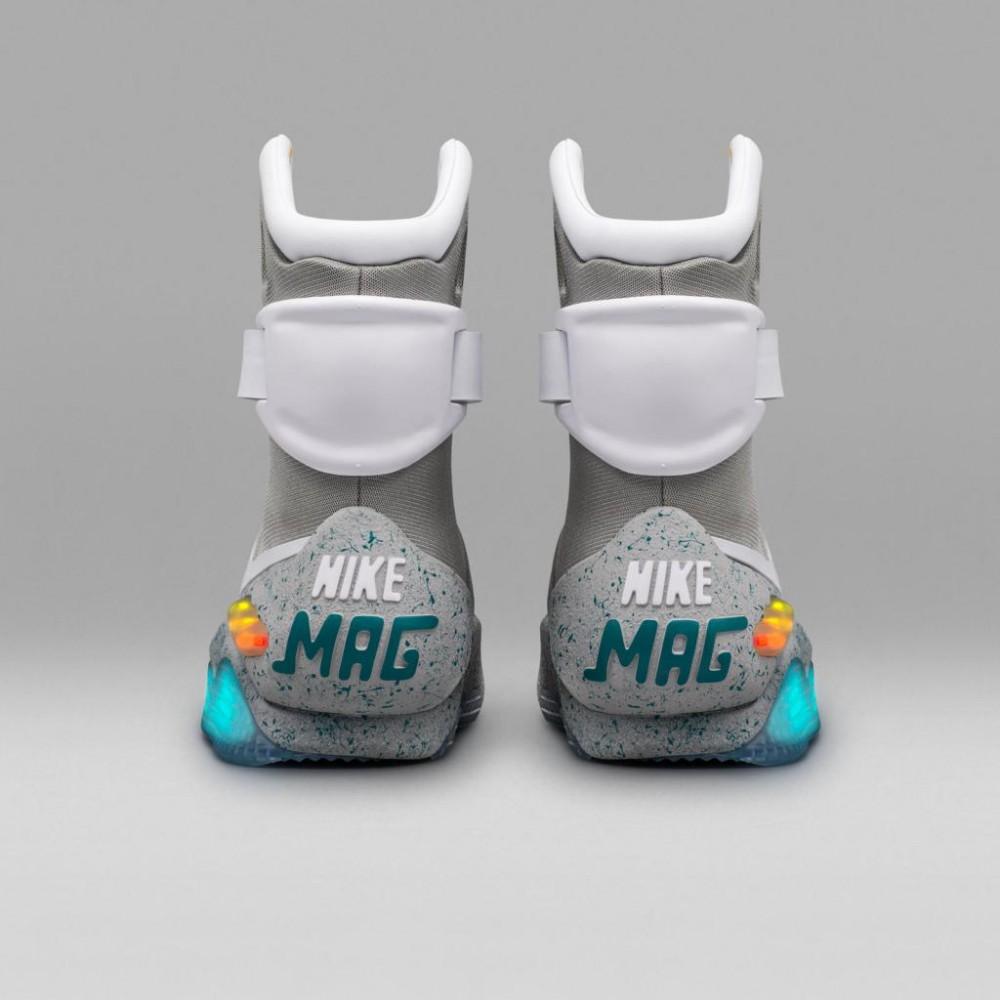 Nike Mag cultura geek volver al futuro